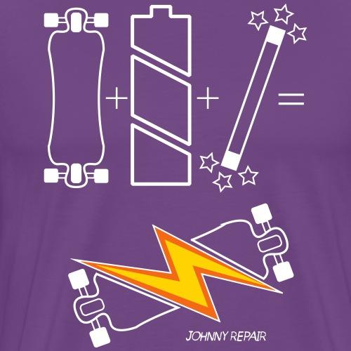 eSk8 equation - Men's Premium T-Shirt