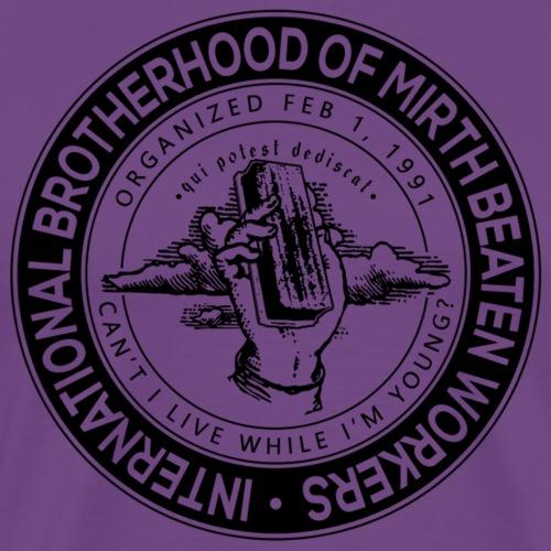 MirthBeaten Worker - Men's Premium T-Shirt