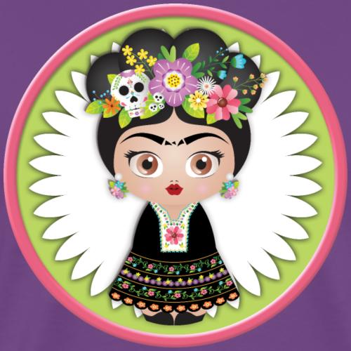 Frida Kahlo Kokeshi Doll - Men's Premium T-Shirt