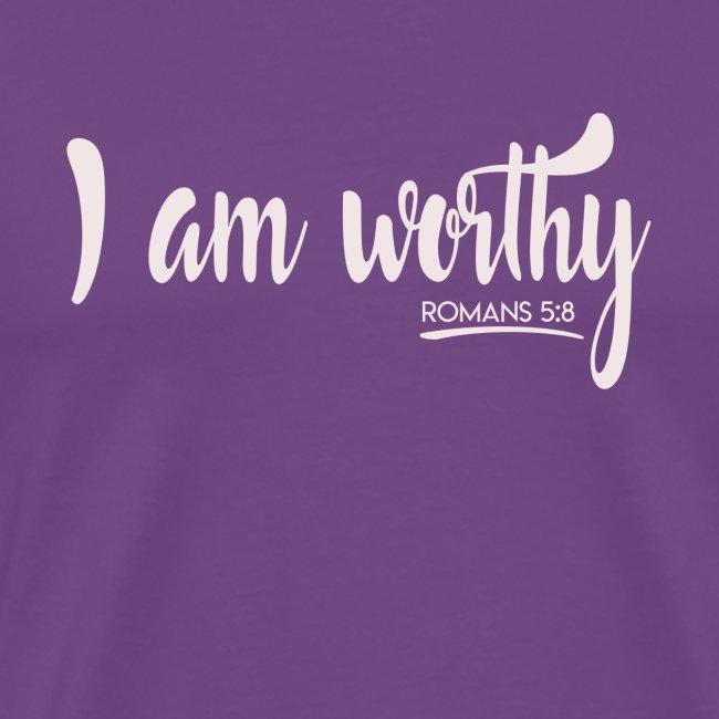I am worth Romans 5:8