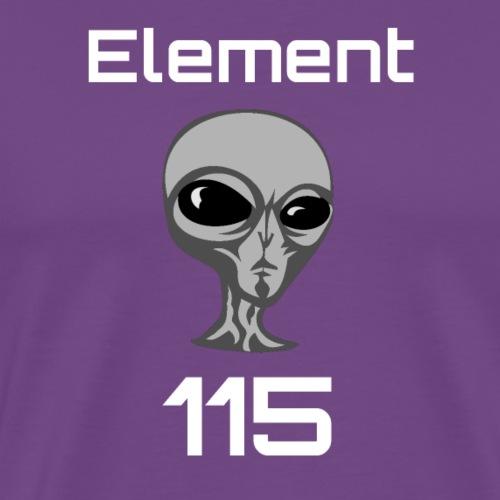 Element 115 Moscovium Alien Fuel - Men's Premium T-Shirt