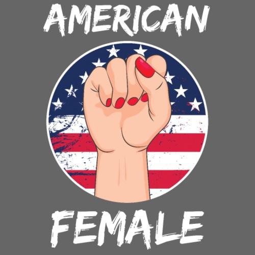 THE AMERICAN FEMALE - Men's Premium T-Shirt