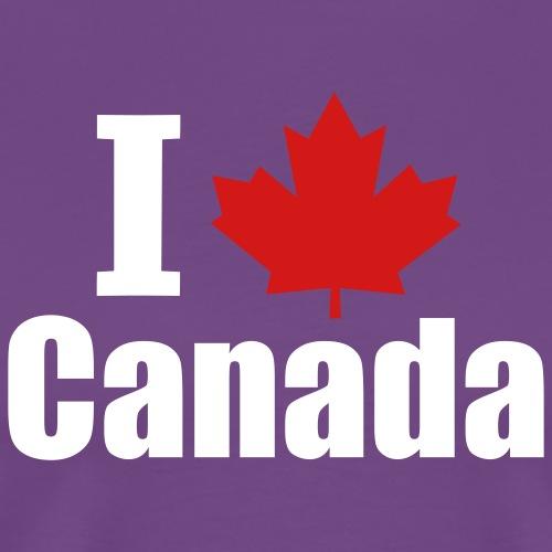I Heart Canada - Men's Premium T-Shirt