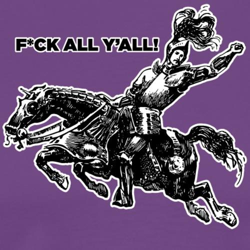 Knight on a horse - Men's Premium T-Shirt