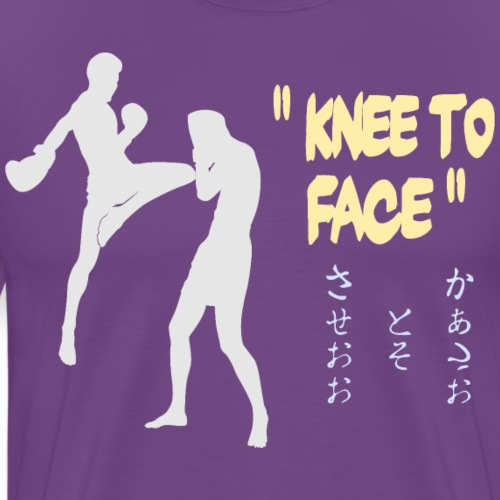 Knee to Face - Men's Premium T-Shirt