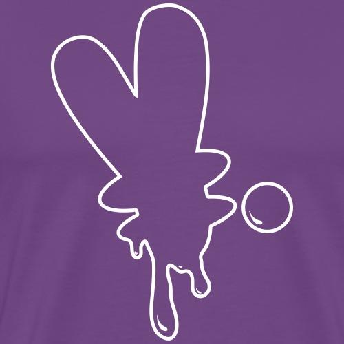 Dripping Y (period) - Men's Premium T-Shirt