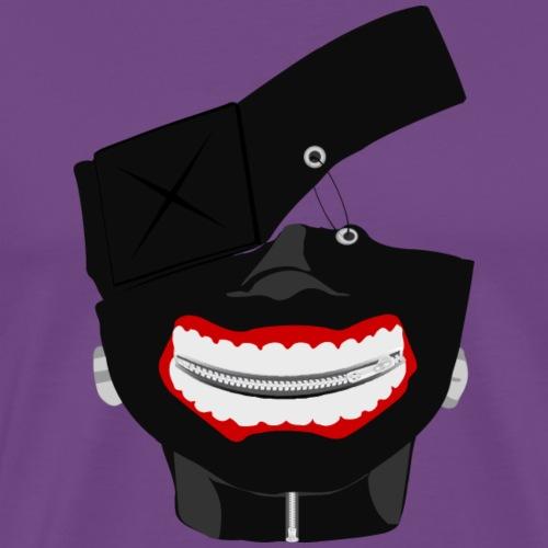 Kaneki Ghoul Mask - Men's Premium T-Shirt