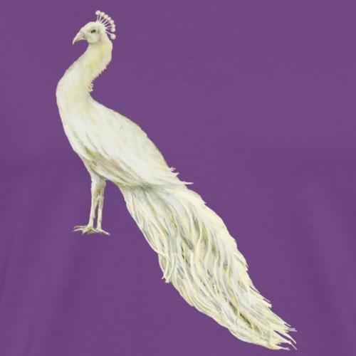White peacock - Men's Premium T-Shirt