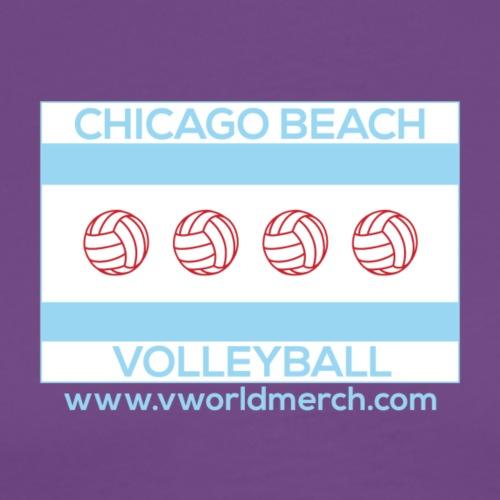 Chicago Beach Volleyball C - Men's Premium T-Shirt
