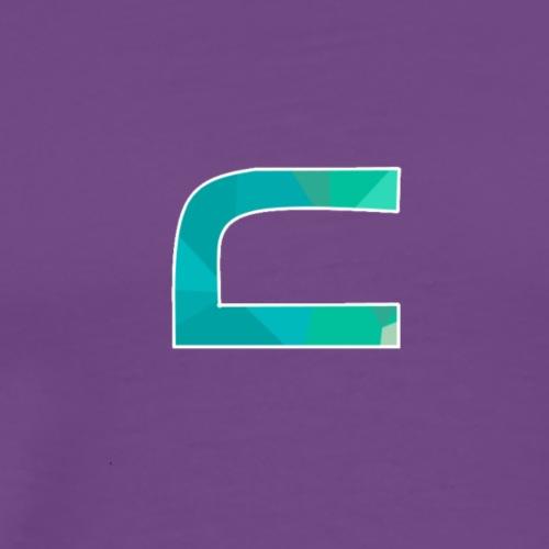 Borderless 3rd Logo - Men's Premium T-Shirt