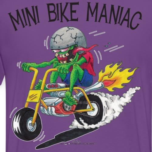 Original Mini Bike Maniac black letters Back