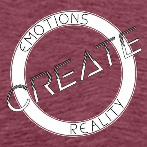 Emotions Create Reality - Men's Premium T-Shirt