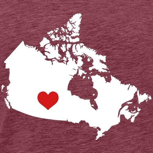 My Heart belongs in Canada - Men's Premium T-Shirt