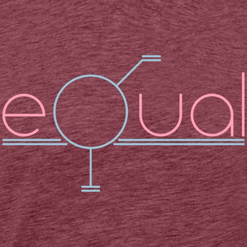 equal - Men's Premium T-Shirt