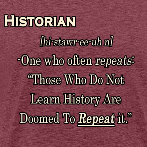 Historian Definition - Men's Premium T-Shirt