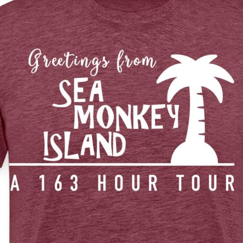Sea Monkey Island - custom 2019 Joco Cruise design - Men's Premium T-Shirt