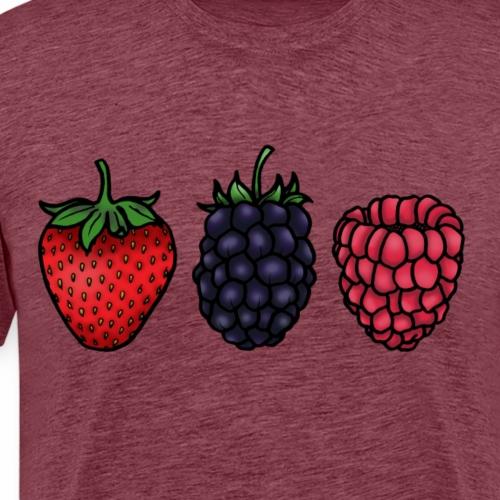 Berries - Men's Premium T-Shirt