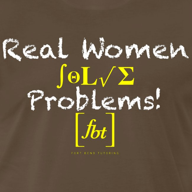 Real Women Solve Problems! [fbt]