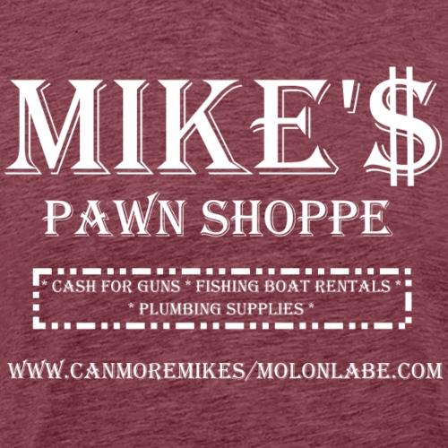 Mikes Pawn White - Men's Premium T-Shirt