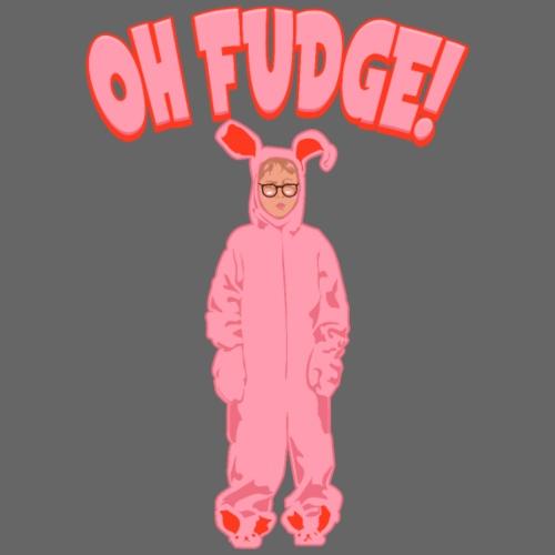 Oh Fudge! Ralphie Christmas Pink Nightmare Bunny - Men's Premium T-Shirt