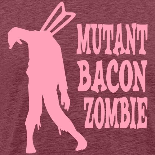 Mutant Bacon Zombie - Men's Premium T-Shirt