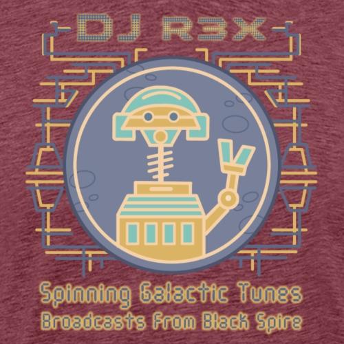 Galactic Tunes - DJ R3X - Men's Premium T-Shirt