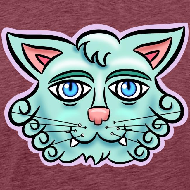 Happy Cat Teal