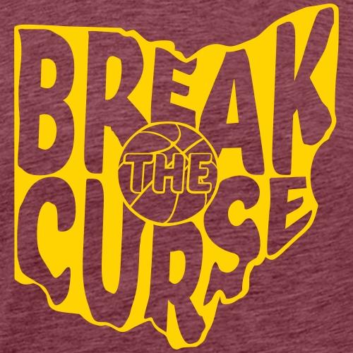 Break The Cleveland Curse - Men's Premium T-Shirt