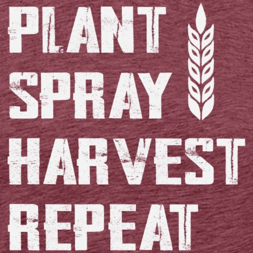 Plant Spray Harvest Repeat - Men's Premium T-Shirt