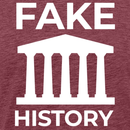 Fake History: Colonial Style Buildings Worldwide - Men's Premium T-Shirt