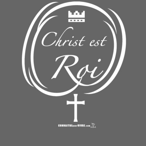 Christ est Roi - T-shirt premium pour hommes
