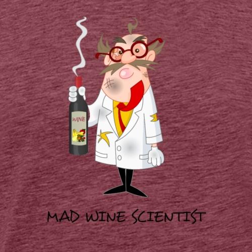 mad wine scientist - Men's Premium T-Shirt