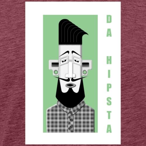 DA HIPSTA - Men's Premium T-Shirt