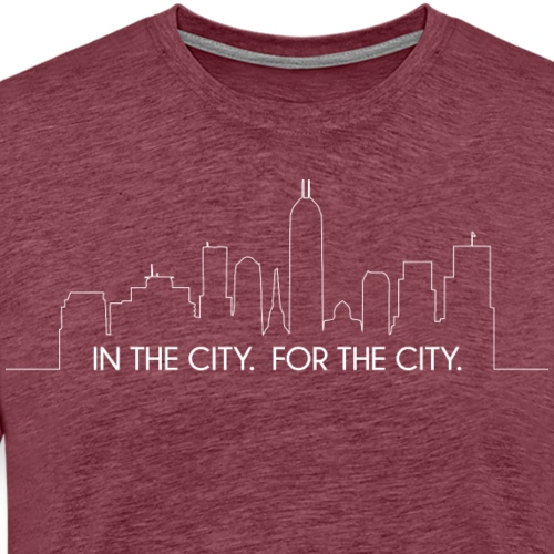 In the City For the City - Men's Premium T-Shirt