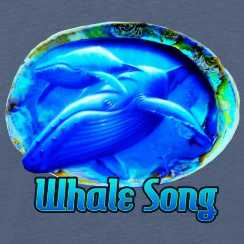 whale song - Men's Premium T-Shirt