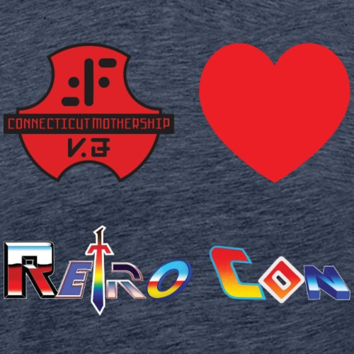 ctv retrocon - Men's Premium T-Shirt