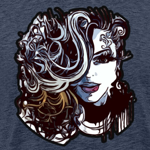 Naturally Curly Girl Diva Queen - Men's Premium T-Shirt