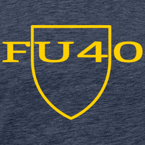 FU40 Custom Logo - Men's Premium T-Shirt