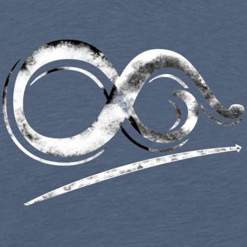 Infinity Path Towards the Limits Without Borders - Men's Premium T-Shirt