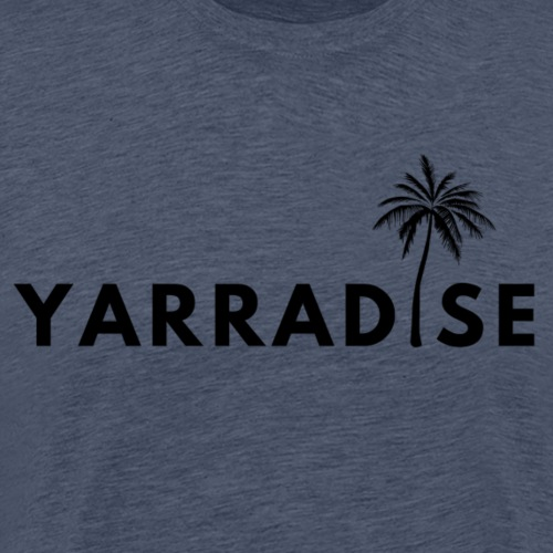 Yarradise Palm: Black text