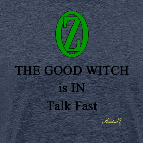 0133 The Good Witch is IN - Men's Premium T-Shirt