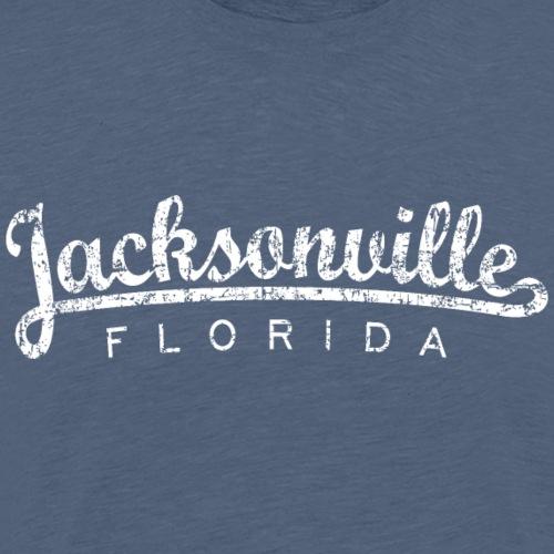 Jacksonville, Florida (Vintage White) - Men's Premium T-Shirt