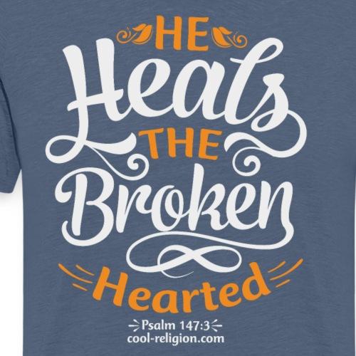 Psalm 147:3 - He heals the broken hearted