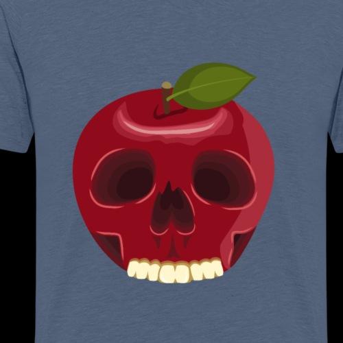 Apple Skull - Men's Premium T-Shirt