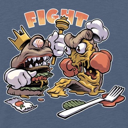 Food Fight - Men's Premium T-Shirt