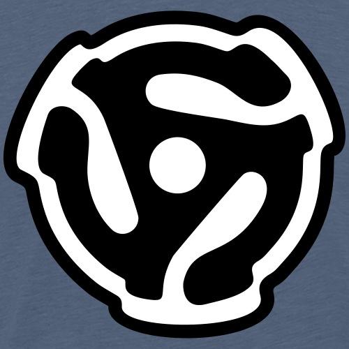 45 R.P.M. Record Adaptor DJ Vinyl Turntable - Men's Premium T-Shirt