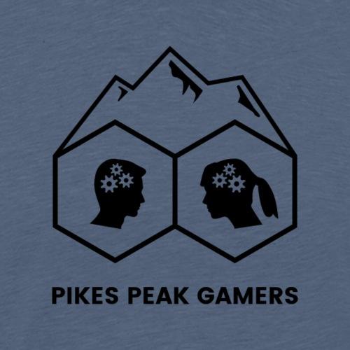 Pikes Peak Gamers Logo (Transparent Black)