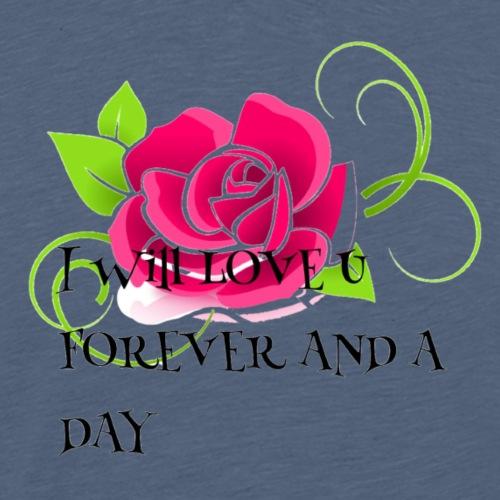 I will love you forever - Men's Premium T-Shirt