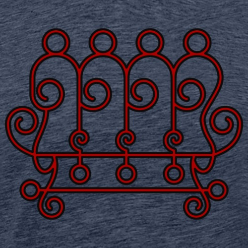 Seal of Paimon from the Goetia - Men's Premium T-Shirt
