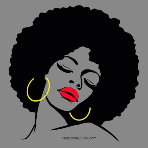 Afro Diva - Men's Premium T-Shirt